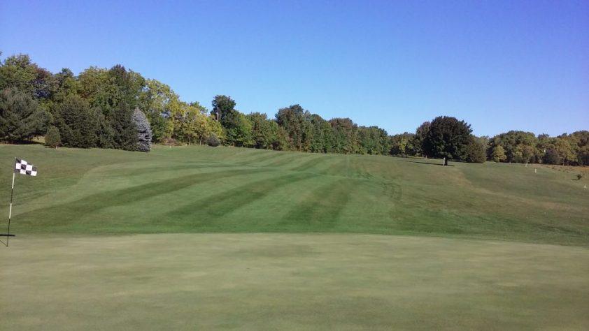 8 Green At Woodlynn Hills Golf Course